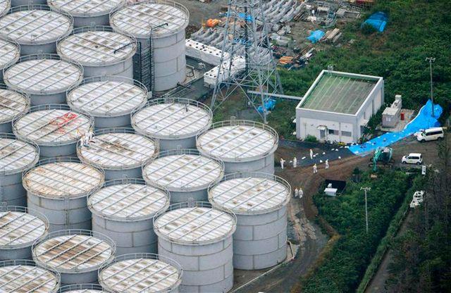 la nouvelle fuite à fukushima désormais considérée comme un incident grave