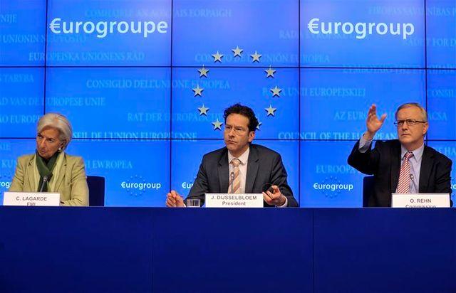 l'eurogroupe décide d'un plan d'aide de 10 milliards d'euros pour chypre