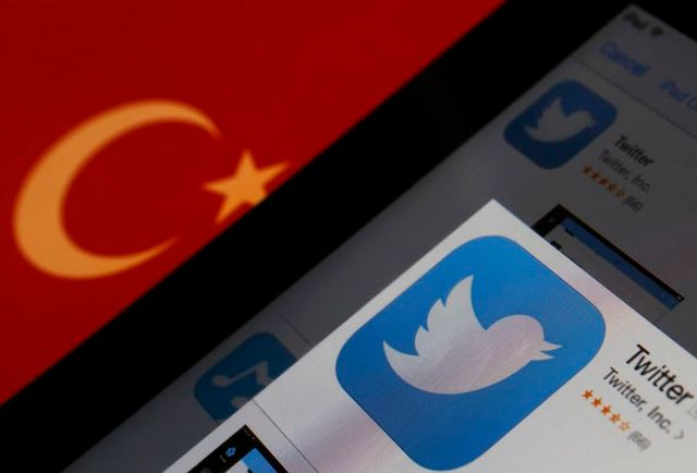 twitter inaccessible en turquie