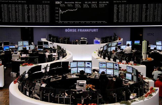 les bourses européennes commencent l'année sur les chapeaux de roue