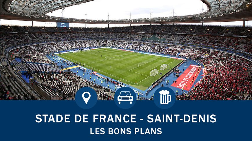 euro 2016 le guide pratique du stade de france. Black Bedroom Furniture Sets. Home Design Ideas