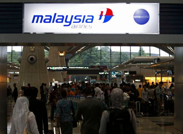 possible désintégration en vol du boeing malaisien