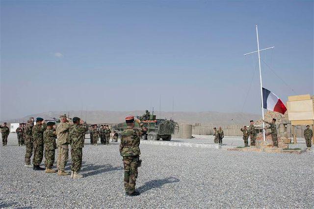 retrait de l'armée française de la région afghane de surobi