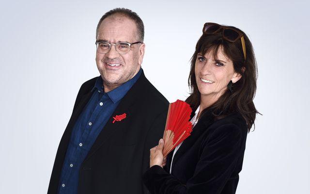 Christine Masson et Laurent Delmas