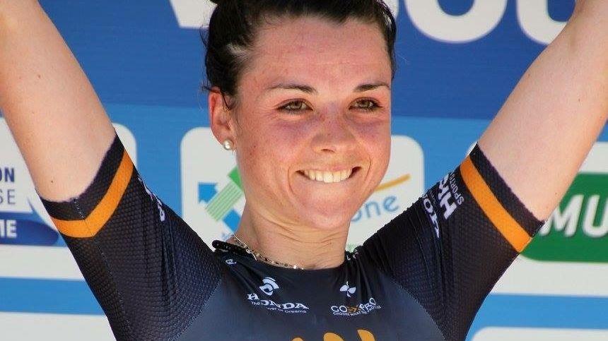 Audrey Cordon - Ragot prête à décrocher une médaille aux JO de Rio