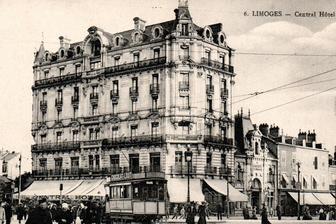 Limoges en 1900