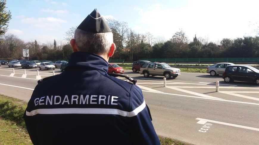 Un gendarme à Roques-sur-Garonne (illustration)