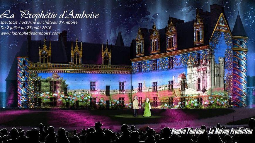 la Prophétie d'Amboise sera présentée 3 soirs par semaine jusqu'à fin août