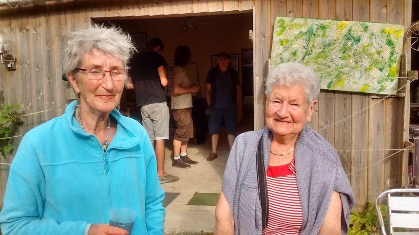 Geneviève et Thérèse, habituées du Kadhangar - Radio France