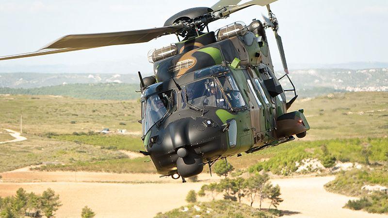 Un hélicoptère NH-90 Caiman livrera le maillot Jaune au sommet du Ventoux