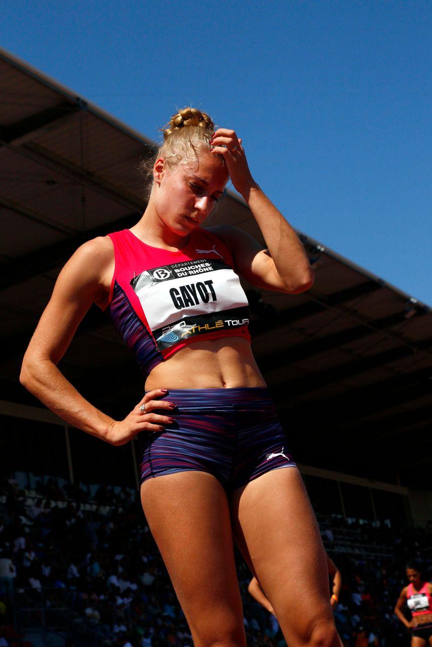 La marnaise Marie Gayot n'a pas réussi à aller au dela des séries du 4x400 mètres. - Maxppp