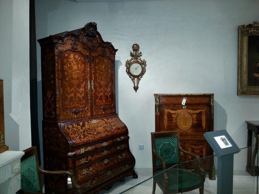 Une partie de la collection du musée du château de Morlanne - Radio France