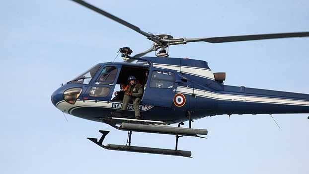Un hélicoptère de la gendarmerie nationale - Image archives