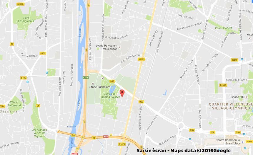 Incendi mortel Rue Commandant Bulle à Grenoble - Aucun(e)