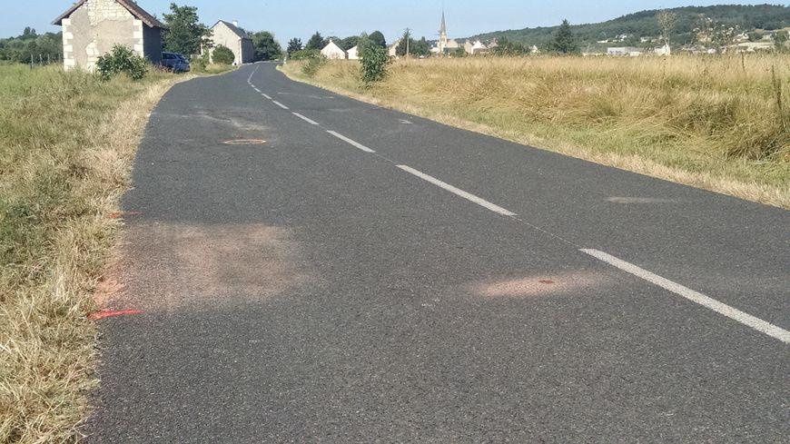 Les deux voitures se sont percutées frontalement ce matin, vers 8 heures.