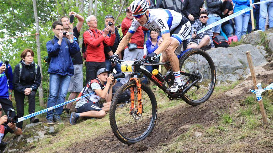 Julien Absalon a remporté l'épreuve de coupe du monde de la Bresse