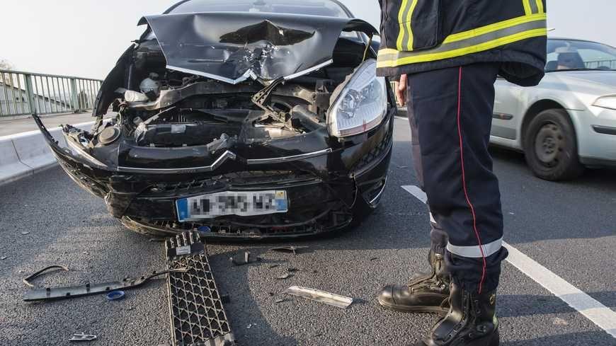Illustration - accident de la route