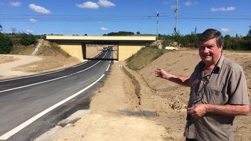 Le maire du Pian-sur-Garonne, Alain Bellard, ravi des nouveaux aménagements