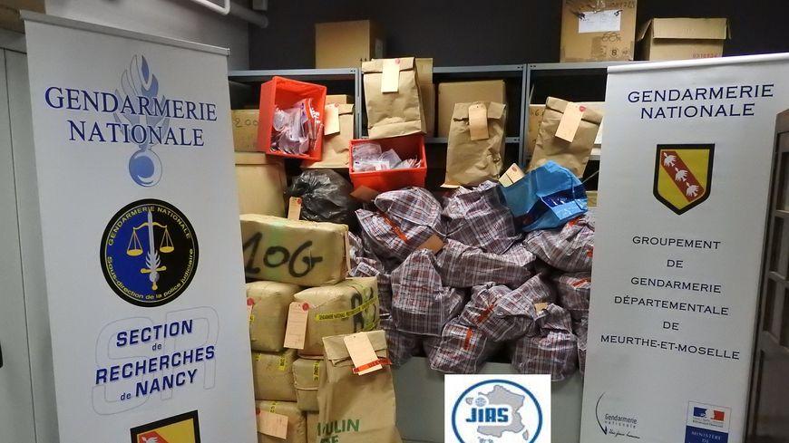 844 kilos de résine de cannabis ont été découverts à Neuves-Maisons
