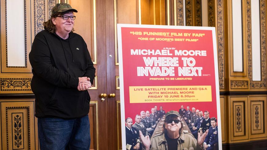Le réalisateur contestataire Michael Moore sera l'un des invités du Festival du Film américain de Deauville.