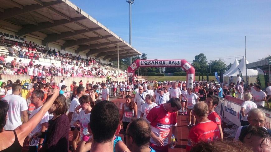 Il y avait 3750 coureurs au départ
