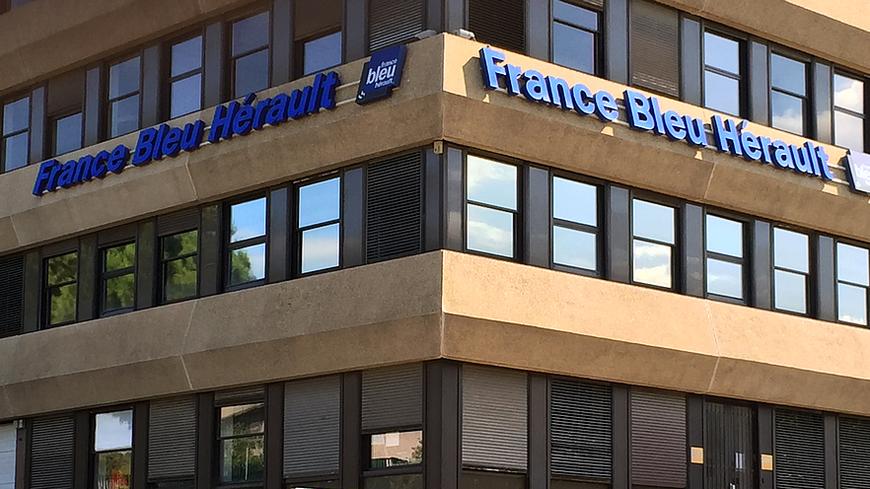 Les studios de France Bleu Hérault