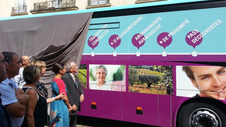 Le président et la vice-présidente du département dévoilent les couleurs de Transvaucluse - Radio France