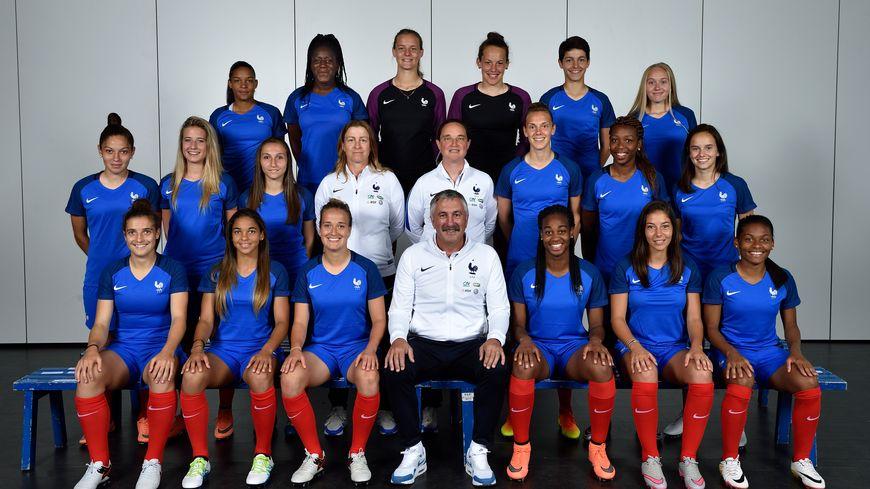 L'équipe de France féminine des moins de 19 ans