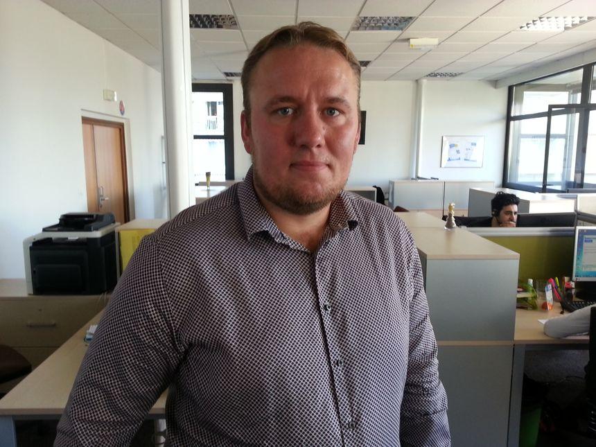 David Laforce, directeur clientèle de l'entreprise de marketing relationnel, Everest Trajectoire - Radio France