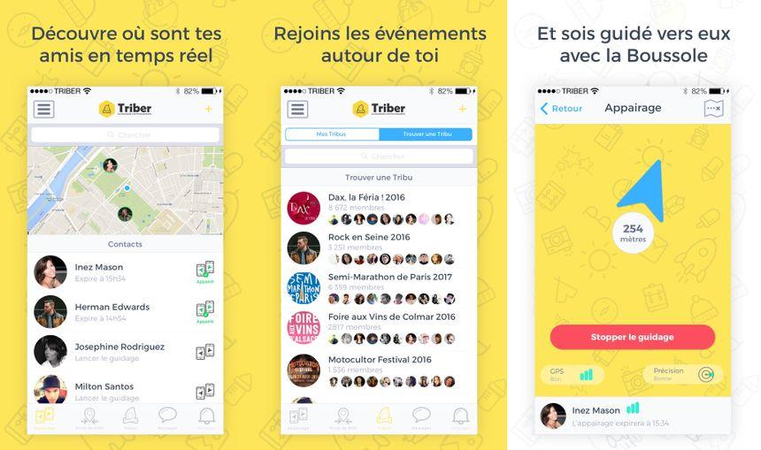 Retrouvez vos amis, rejoignez des groupes et suivez le GPS  - Radio France