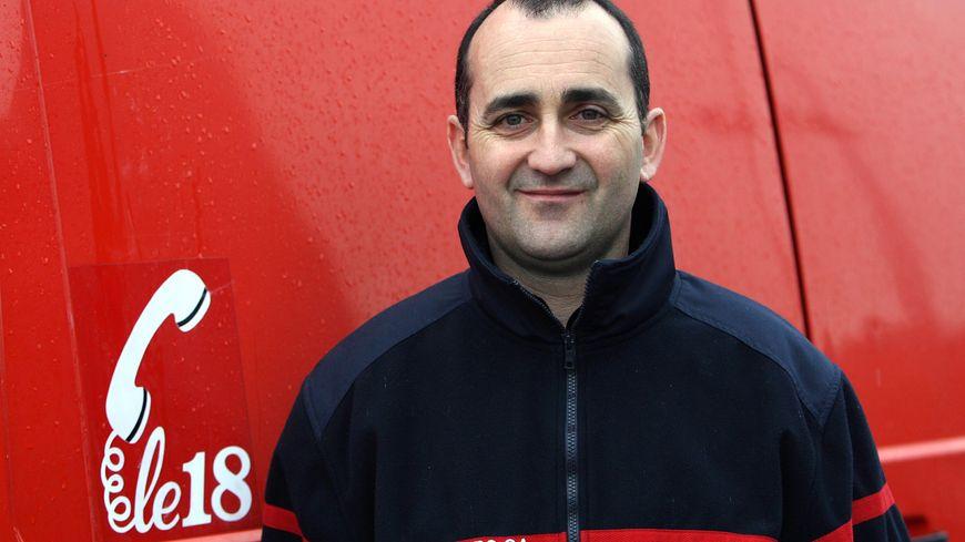 Le colonel Risdorfer, patron des pompiers de l'Hérault