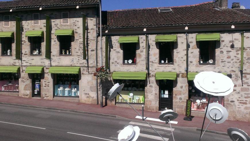 La maison de la porcelaine à Aixe-sur-Vienne