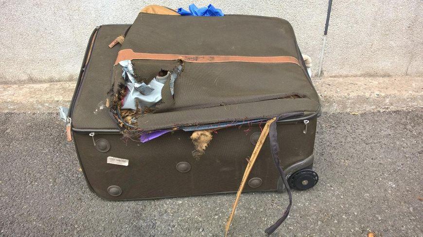 Les démineurs ont vérifié la valise