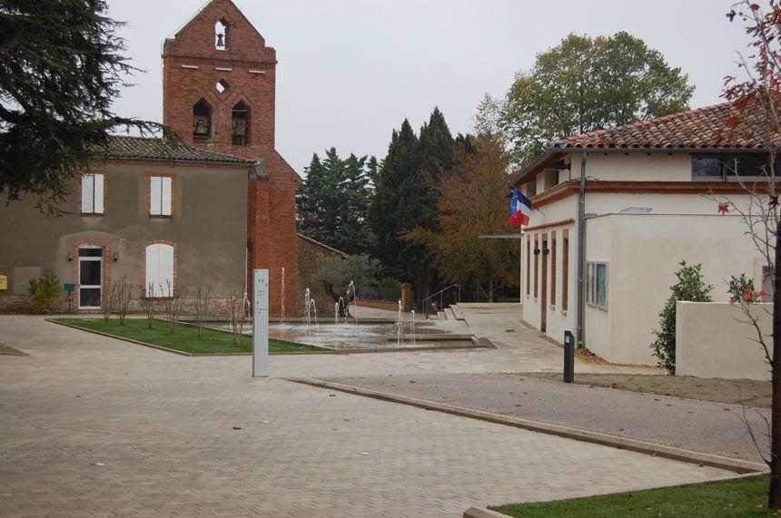 Place de l'église de Préserville - Aucun(e)