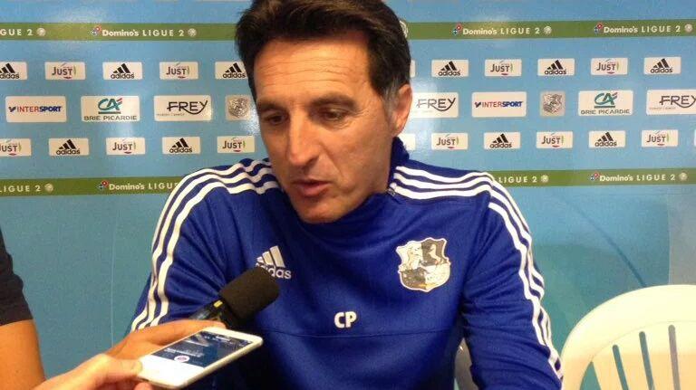 Christophe Pélissier a entamé brillamment sa deuxième saison comme entraîneur de l'Amiens SC