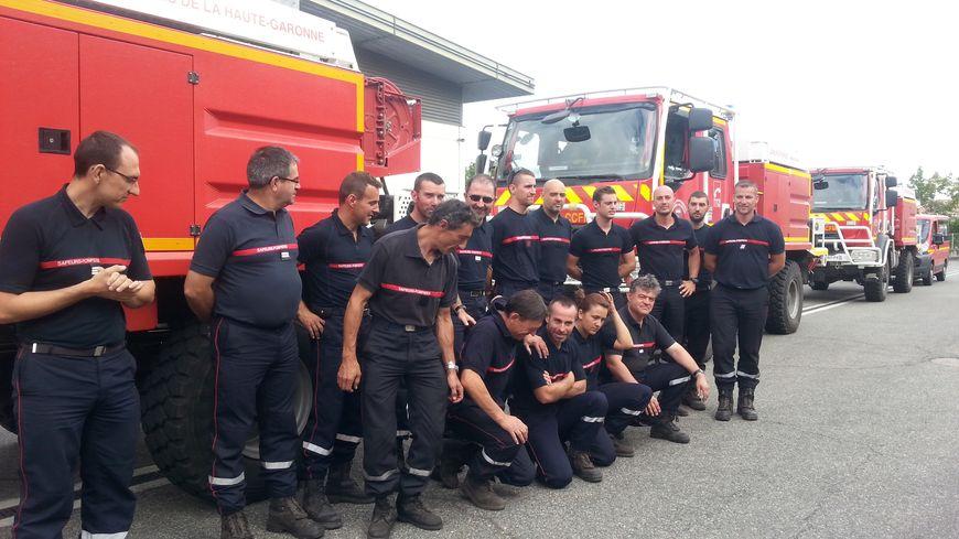 L'an dernier déjà, une colonne de pompiers de Haute-Garonne était partie prêter main forte en Gironde sur le feu de St Jean-d'Illac