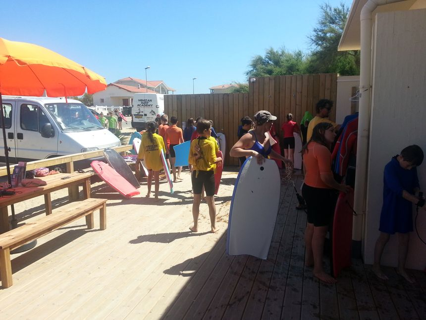 école de Mimizan surf académy - Radio France