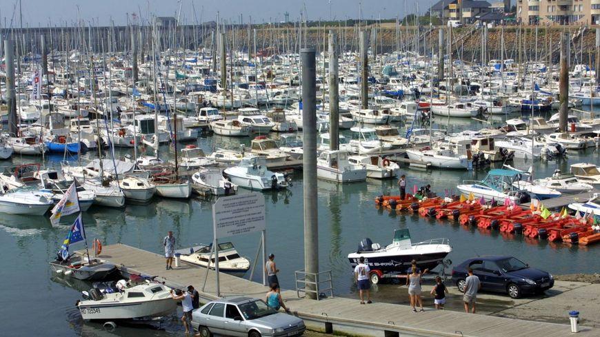 Le port de plaisance de Granville a enregistré une augmentation de sa fréquentation de plus de 13% cet été.