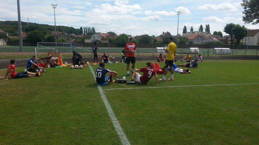 Derniers entraînements avant l'entrée dans la compétition pour l'ASM Belfort