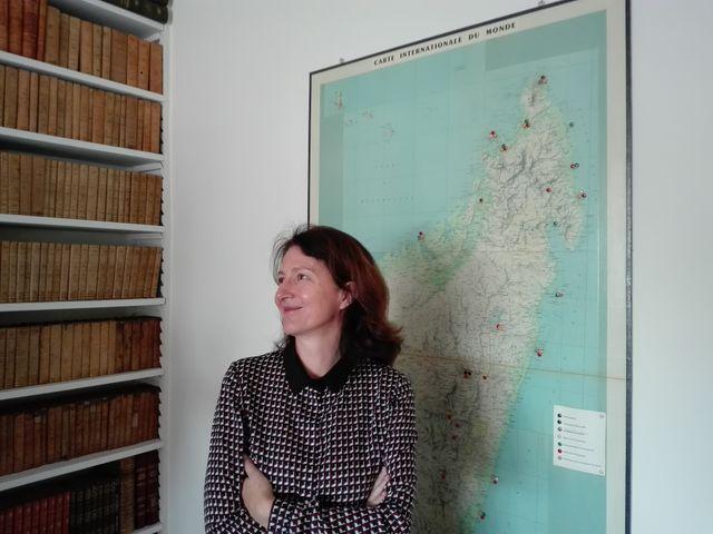 Véronique Vouland A Neini, ambassadeur de France
