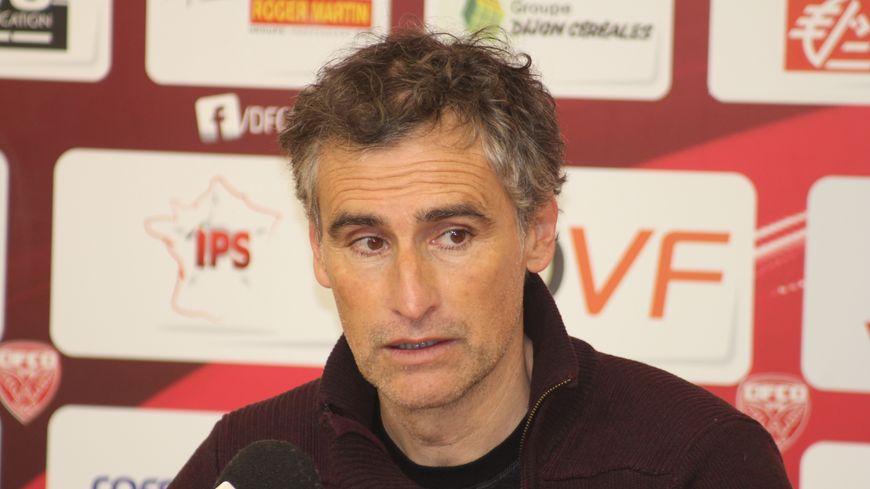 Olivier Dall'Oglio, l'entraîneur du DFCO