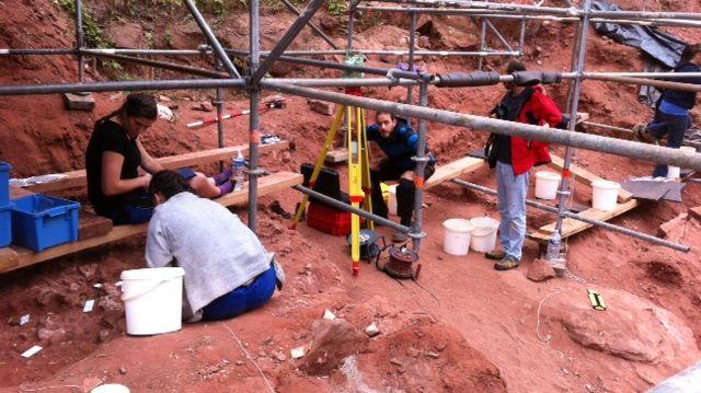 Sur les traces des hommes préhistoriques à Mutzig