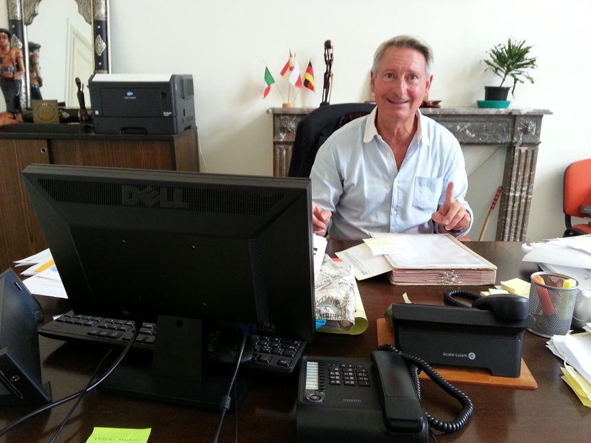 Florent Montillot, l'adjoint au maire d'Orléans à l'Education - Radio France