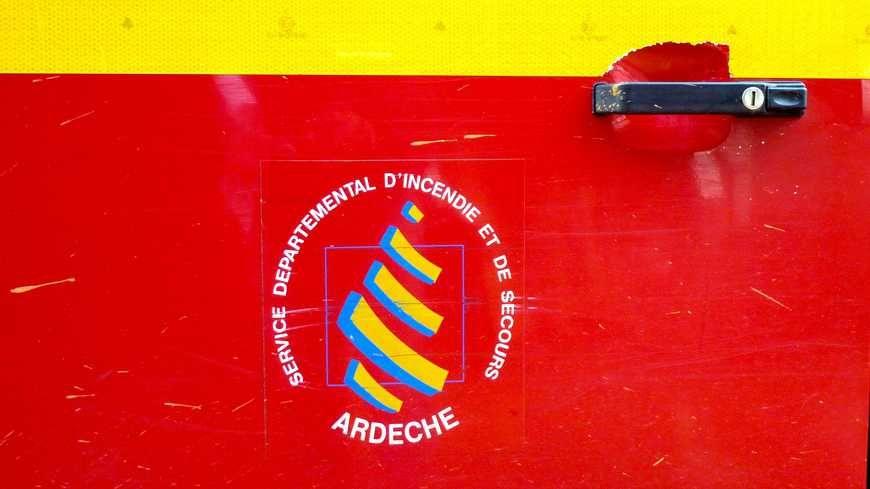 Pompiers de l'Ardèche, photo d'illustration