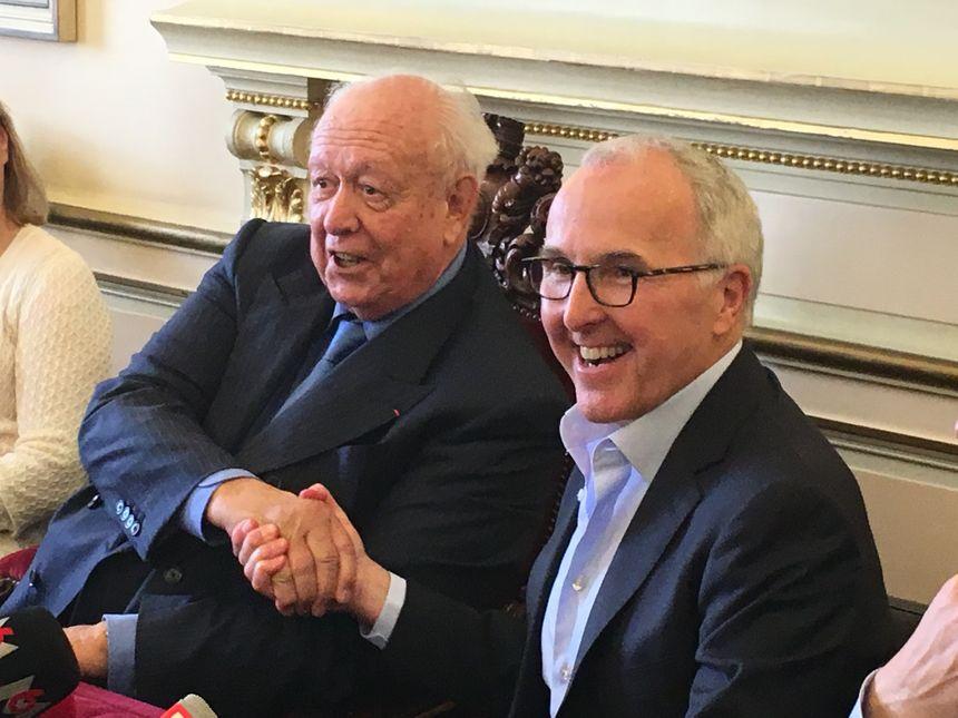 Jean-Claude Gaudin et le nouveau propriétaire de l'OM - Radio France