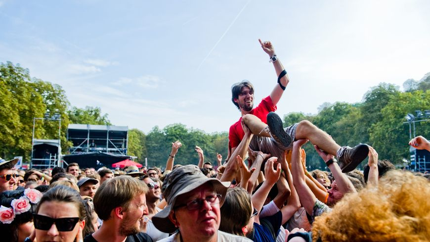 Illustration : le public de Rock en Seine en 2015