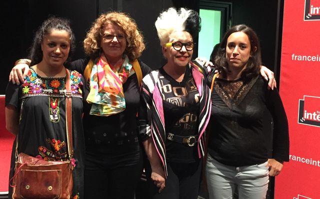 Houria Bouteldja, Agnès Tricoire, ORLAN et Solange Bied-Charreton