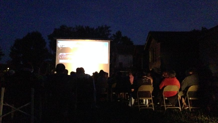 Cinéma en plein air en Dordogne