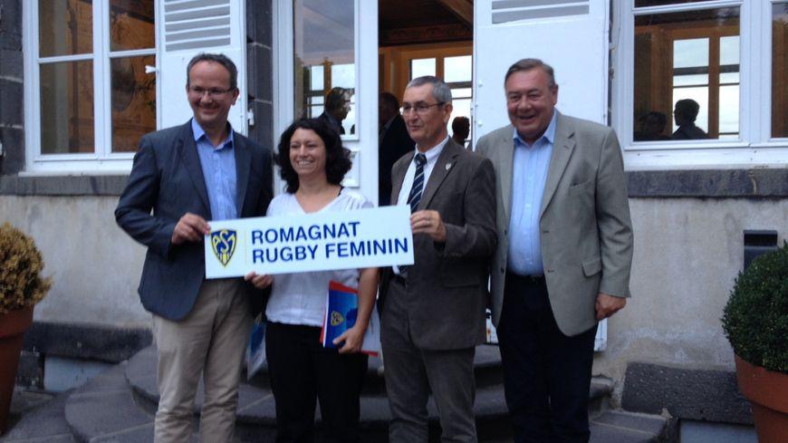 """Le """"mariage"""" de l'ORCA et de l'ASM s'est déroulé à la mairie de Romagnat"""