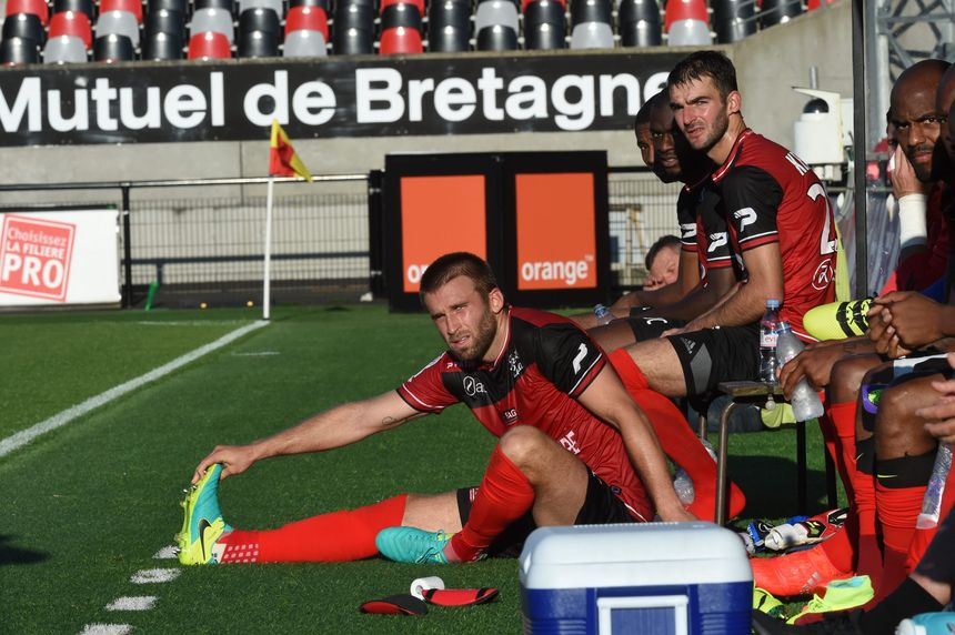 L'ex-Nantais Lucas Deaux retrouve la Ligue 1 - Maxppp